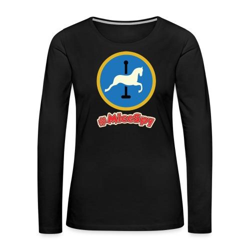 King Arthur's Carousel Explorer Badge - Women's Premium Long Sleeve T-Shirt