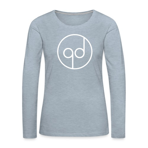 White Icon - Women's Premium Long Sleeve T-Shirt