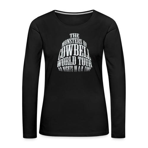 monstersofcowbellfront - Women's Premium Long Sleeve T-Shirt