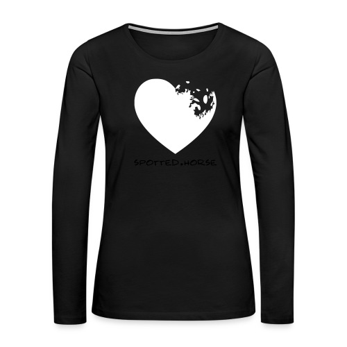 Appaloosa Heart - Women's Premium Slim Fit Long Sleeve T-Shirt
