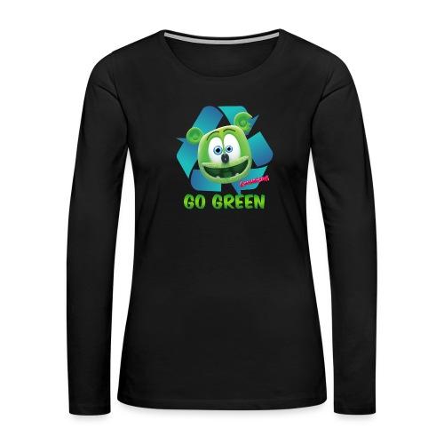 Gummibär Recycle - Women's Premium Long Sleeve T-Shirt