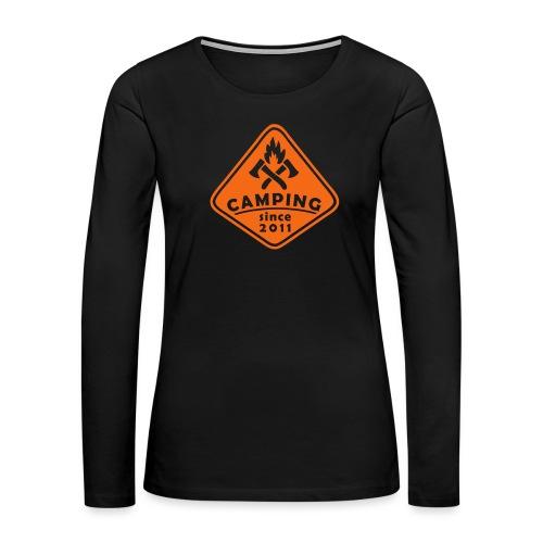 Campfire 2011 - Women's Premium Long Sleeve T-Shirt