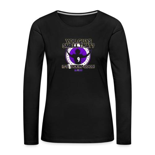What's Updog? - Women's Premium Slim Fit Long Sleeve T-Shirt