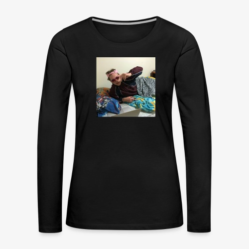 good meme - Women's Premium Slim Fit Long Sleeve T-Shirt