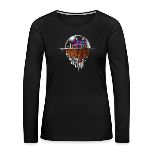 Sky city - Women's Premium Slim Fit Long Sleeve T-Shirt