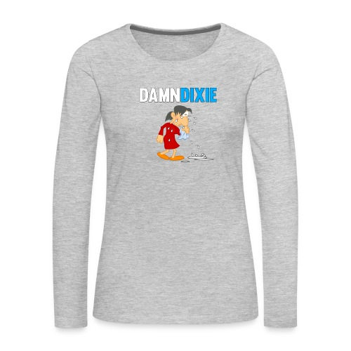 Damn Dixie - Women's Premium Long Sleeve T-Shirt