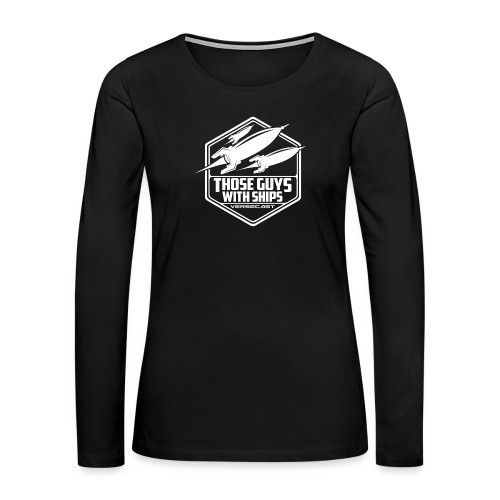 TGWS B&W - Women's Premium Slim Fit Long Sleeve T-Shirt