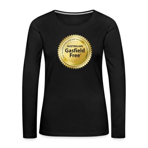 AGF Organic T Shirt - Traditional - Women's Premium Slim Fit Long Sleeve T-Shirt