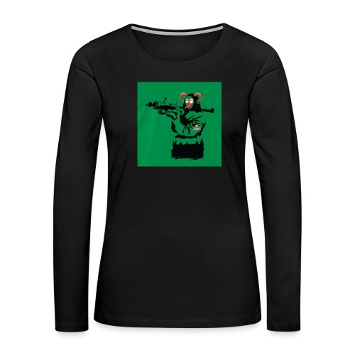 Baskey mona lisa - Women's Premium Long Sleeve T-Shirt