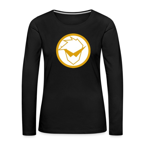 FG Phone Cases (Pure Clean Gold) - Women's Premium Long Sleeve T-Shirt