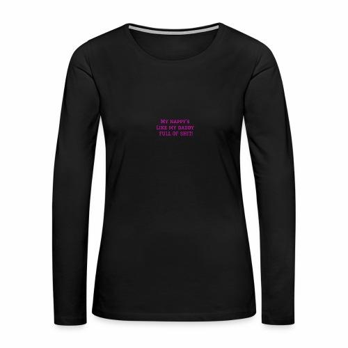 FULL OF SH*T - Women's Premium Long Sleeve T-Shirt