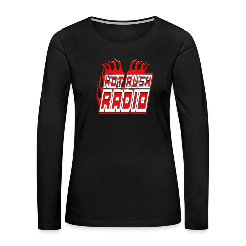 worlds #1 radio station net work - Women's Premium Slim Fit Long Sleeve T-Shirt