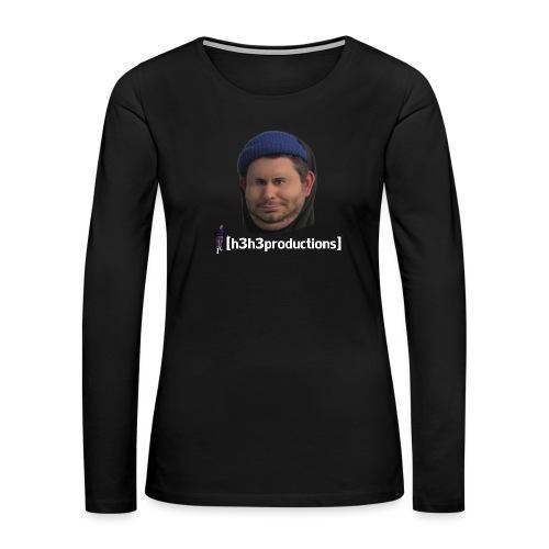 h3h3productions Ethan Klein - Women's Premium Slim Fit Long Sleeve T-Shirt