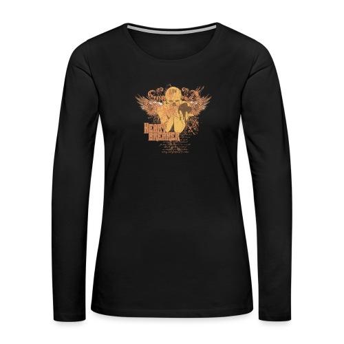 teetemplate54 - Women's Premium Slim Fit Long Sleeve T-Shirt