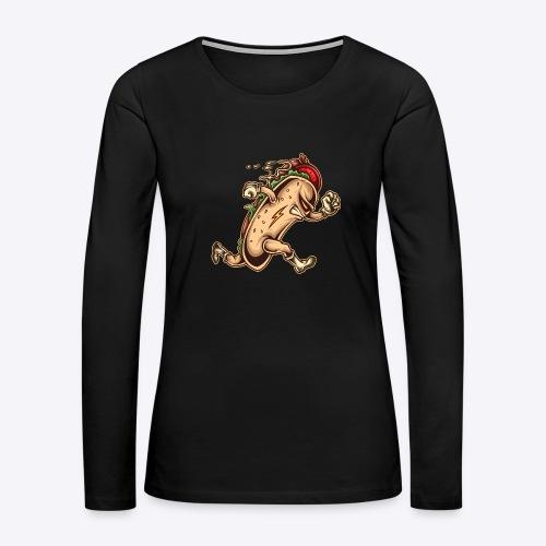 Hot Dog Hero - Women's Premium Long Sleeve T-Shirt