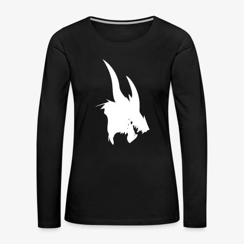 dragon sil - Women's Premium Slim Fit Long Sleeve T-Shirt
