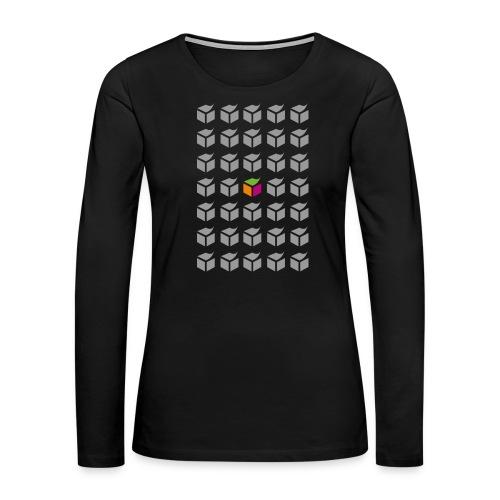 grid semantic web - Women's Premium Long Sleeve T-Shirt