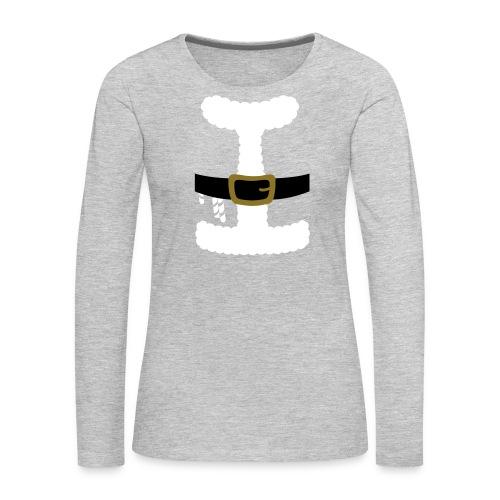 SANTA CLAUS SUIT - Men's Polo Shirt - Women's Premium Long Sleeve T-Shirt