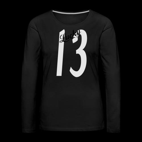 Lucky Thirteen - Women's Premium Long Sleeve T-Shirt