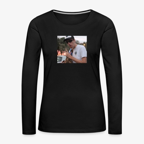 big man - Women's Premium Slim Fit Long Sleeve T-Shirt