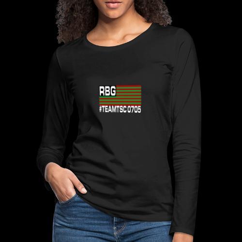 TeamTSC RBGFlag 2 - Women's Premium Long Sleeve T-Shirt