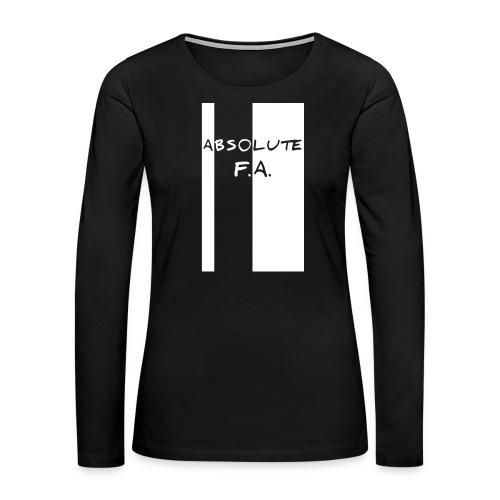 Absolute F(xxx) A(LL) - Women's Premium Slim Fit Long Sleeve T-Shirt