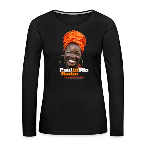 Paul in Rio Radio - Mágica garota - Women's Premium Long Sleeve T-Shirt