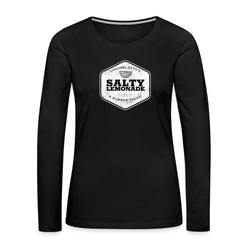 salty lemonade aged - Women's Premium Long Sleeve T-Shirt