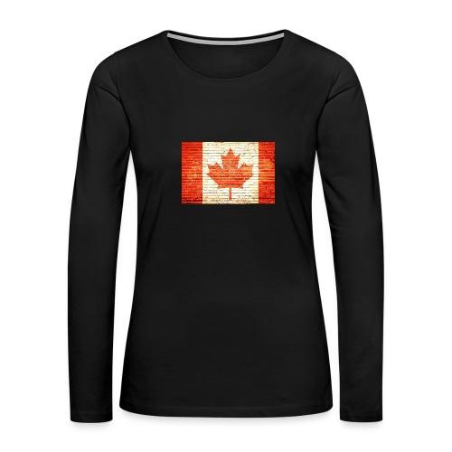 Canada flag - Women's Premium Long Sleeve T-Shirt