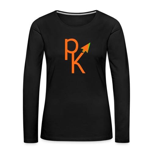Plusklix Logo - Women's Premium Long Sleeve T-Shirt
