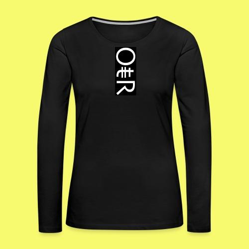 OntheReal coal - Women's Premium Long Sleeve T-Shirt
