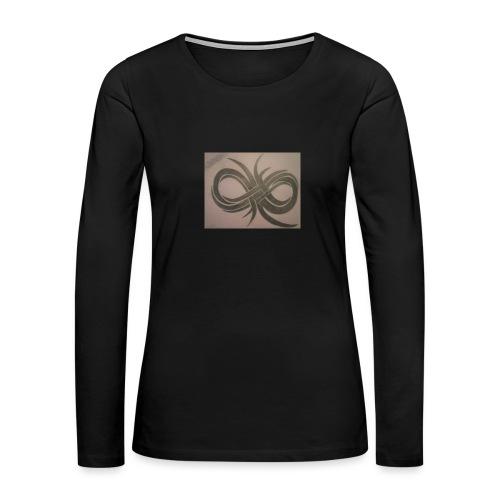 Infinity - Women's Premium Slim Fit Long Sleeve T-Shirt