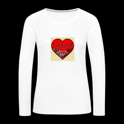 DE1E64A8 C967 4E5E 8036 9769DB23ADDC - Women's Premium Long Sleeve T-Shirt