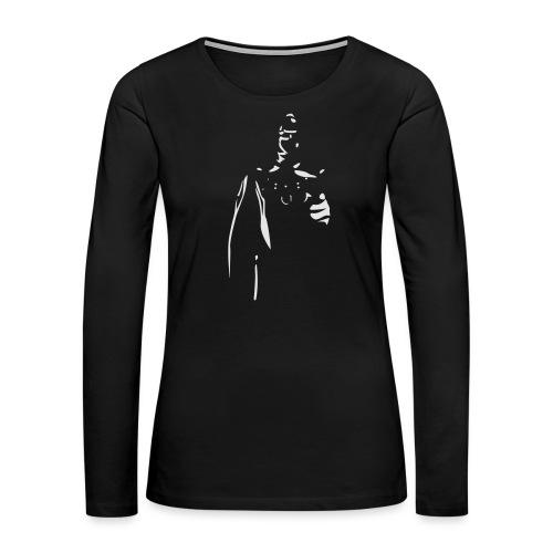 Rubber Man Wants You! - Women's Premium Slim Fit Long Sleeve T-Shirt