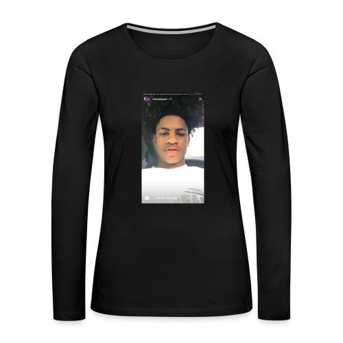 F4590FC6 2BCE 49C0 B208 388675CD285D - Women's Premium Slim Fit Long Sleeve T-Shirt