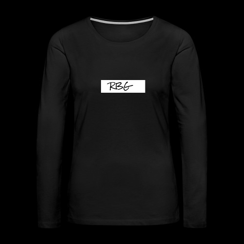 RBG - Women's Premium Long Sleeve T-Shirt