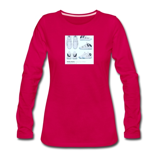 04EB9DA8 A61B 460B 8B95 9883E23C654F - Women's Premium Long Sleeve T-Shirt