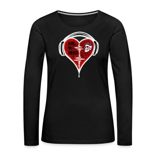 Axelofabyss Music in your heart - Women's Premium Long Sleeve T-Shirt