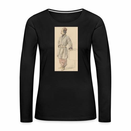 rs portrait sp 01 - Women's Premium Long Sleeve T-Shirt