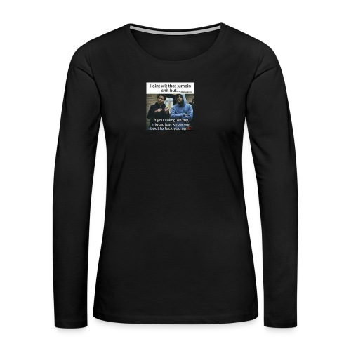 Friends down for friends - Women's Premium Long Sleeve T-Shirt