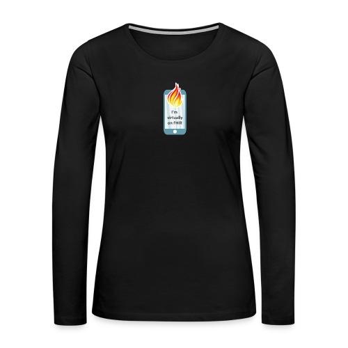 HL7 FHIR DevDays 2020 - Mobile - Women's Premium Slim Fit Long Sleeve T-Shirt