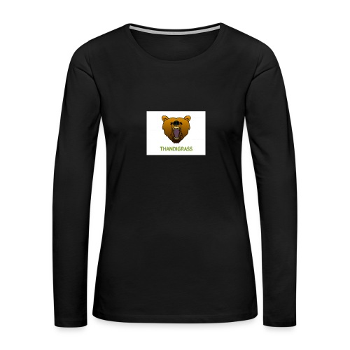 THANDIGRASS - Women's Premium Long Sleeve T-Shirt