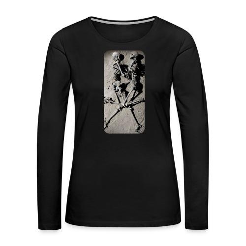 iphone skeletons - Women's Premium Long Sleeve T-Shirt