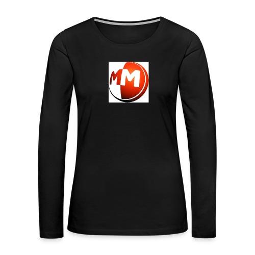 MM logo - Women's Premium Long Sleeve T-Shirt