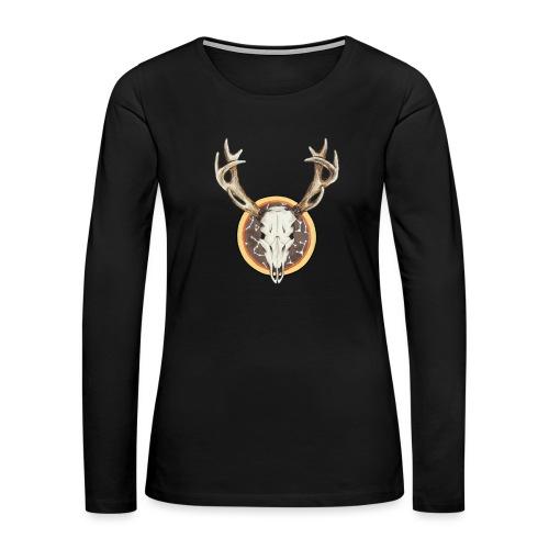Death Dearest - Women's Premium Slim Fit Long Sleeve T-Shirt