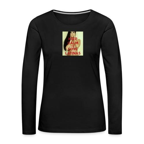 Latinas do it better - Women's Premium Long Sleeve T-Shirt