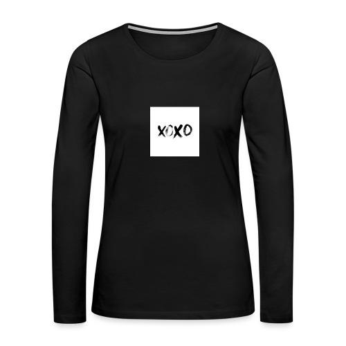 xoxo - Women's Premium Long Sleeve T-Shirt