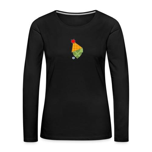 Hoppy Brew Year - Women's Premium Slim Fit Long Sleeve T-Shirt