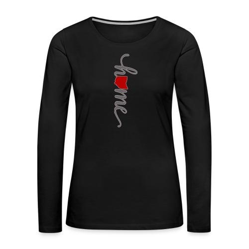 Home Heart Ohio - Women's Premium Long Sleeve T-Shirt