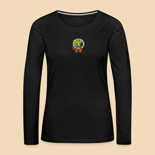 Rockhound reduce size4 - Women's Premium Slim Fit Long Sleeve T-Shirt